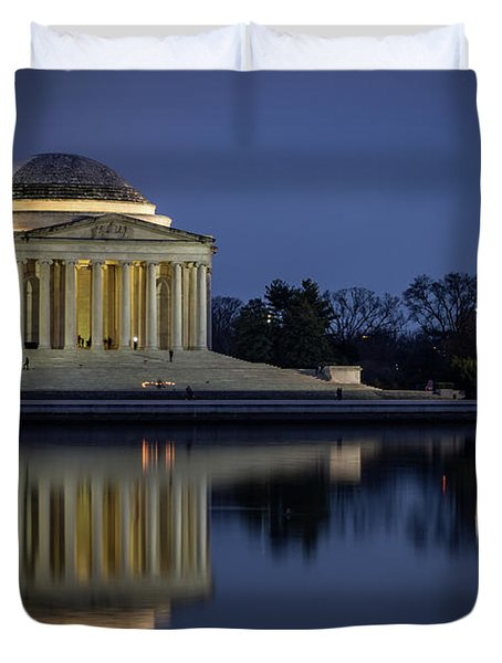 Jefferson Reflecting Duvet Cover