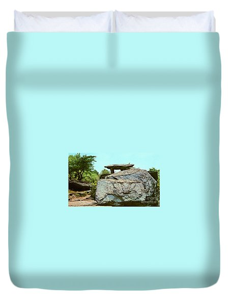 Jefferson Rock  Duvet Cover by Ruth  Housley