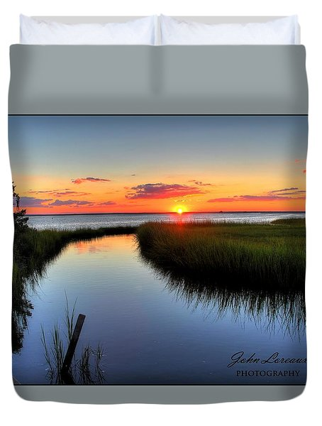 Jeffres Reflections Duvet Cover