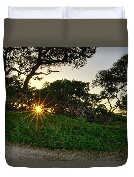 Jekyll Sunset Duvet Cover