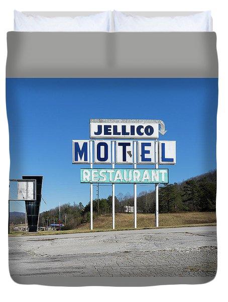 Jellico Motel Duvet Cover