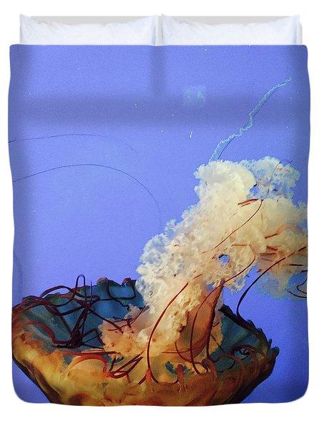 Jelly Ballet Duvet Cover by Beth Saffer