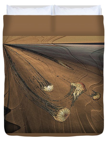 Jelly Fish 4 Duvet Cover