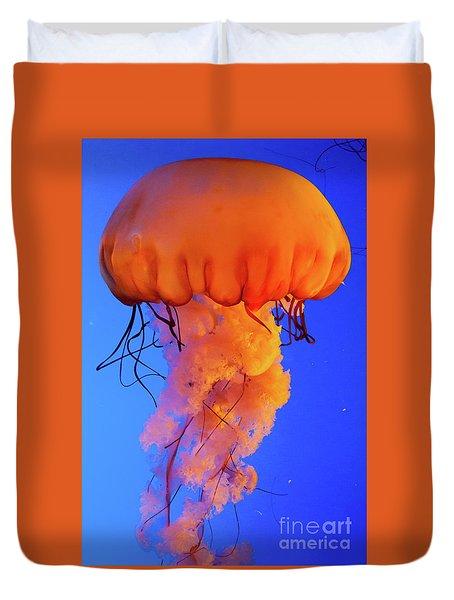 Jelly Fish 4 Duvet Cover