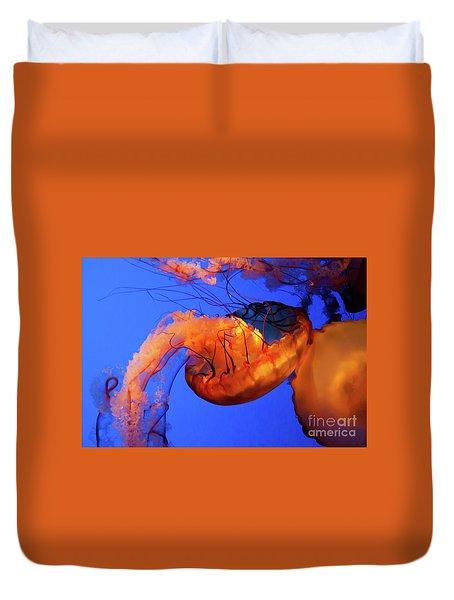 Jelly Fish 5 Duvet Cover