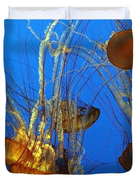 Jellyfish Family Duvet Cover