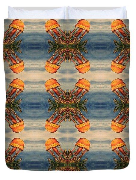 Jellyfish Pattern Duvet Cover