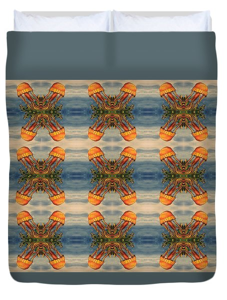 Jellyfish Pattern Duvet Cover