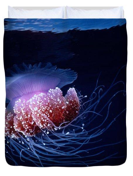 Jellyfish Duvet Cover by Steve Rosenberg - Printscapes