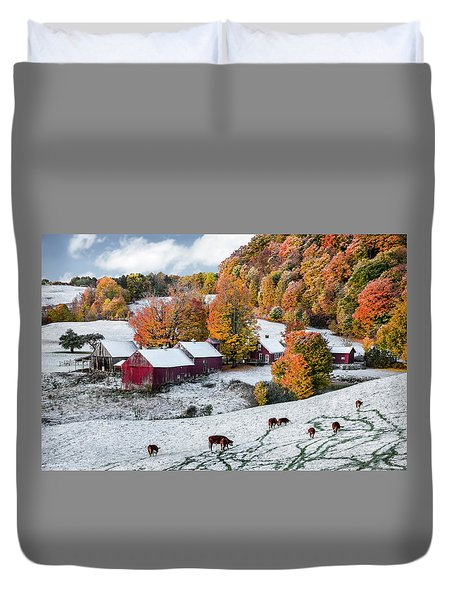 Jenne Farm, Reading, Vt Duvet Cover