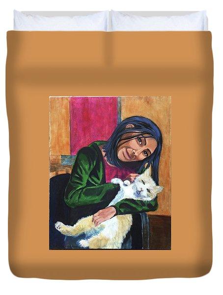 Jenny And Rogan Duvet Cover