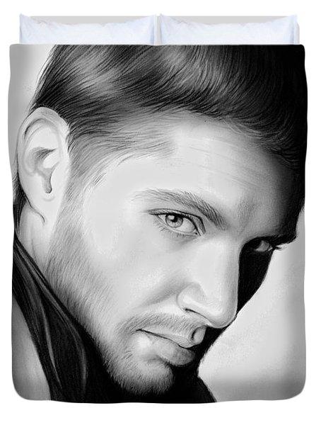 Jensen Ackles Duvet Cover