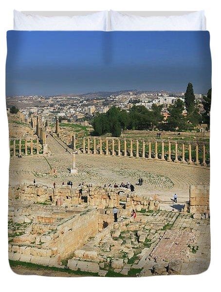 Jerash Jordan Duvet Cover