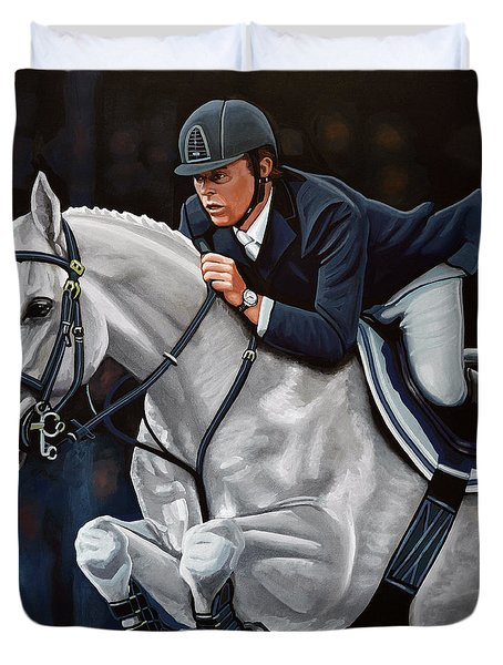 Jeroen Dubbeldam On The Sjiem Duvet Cover