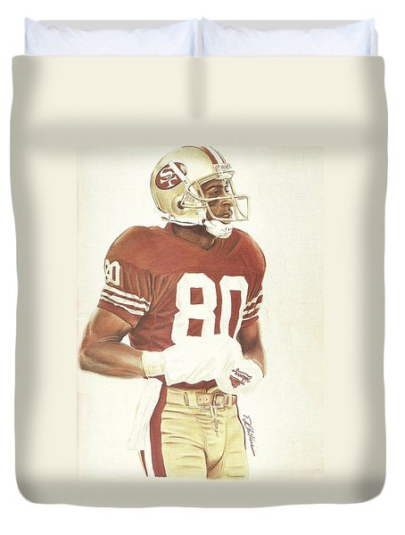 Jerry Duvet Cover by Darren  Chilton