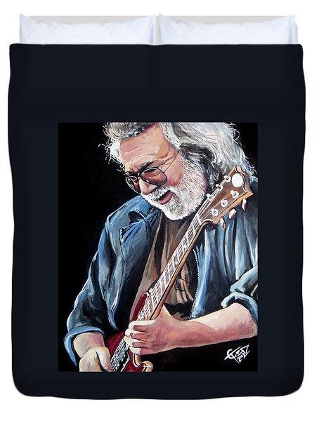 Jerry Garcia - The Grateful Dead Duvet Cover