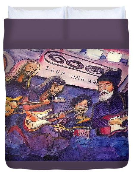 Jerry Joseph And The Jackmormons Duvet Cover
