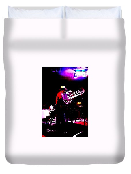 Jerry Miller - Moby Grape Man 3 Duvet Cover by Sadie Reneau