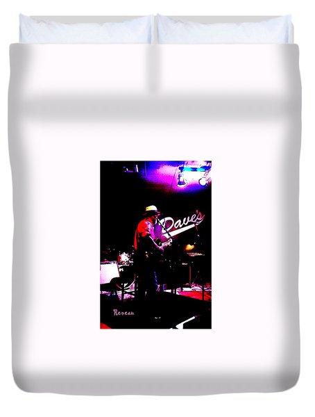 Jerry Miller - Moby Grape Man 3 Duvet Cover