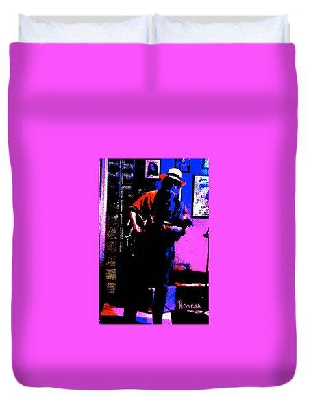 Jerry Miller - Moby Grape Man 4 Duvet Cover