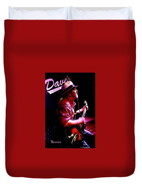 Jerry Miller - Moby Grape Man 5 Duvet Cover by Sadie Reneau