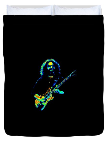 Duvet Cover featuring the photograph Jerry T1 by Ben Upham