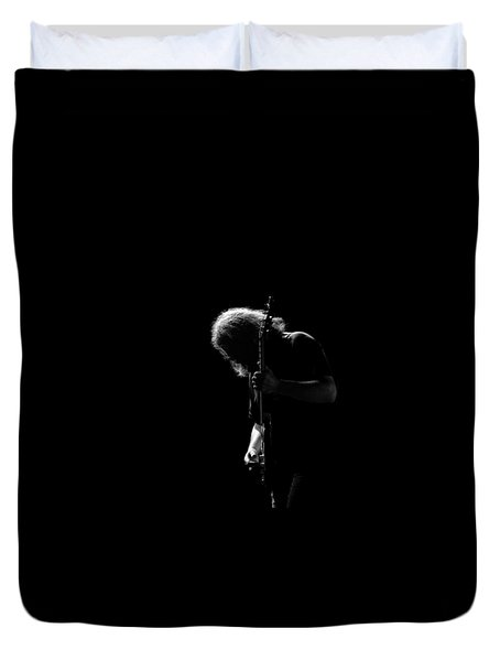 Duvet Cover featuring the photograph Jerry T2 by Ben Upham