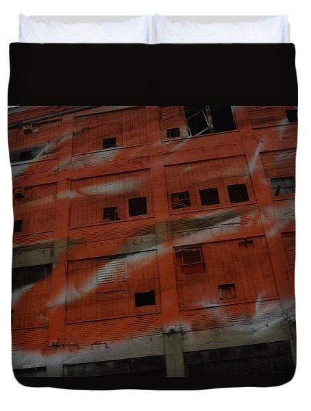 Jersey Building Trainview Duvet Cover