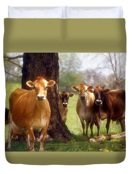 Jersey Lookers Duvet Cover