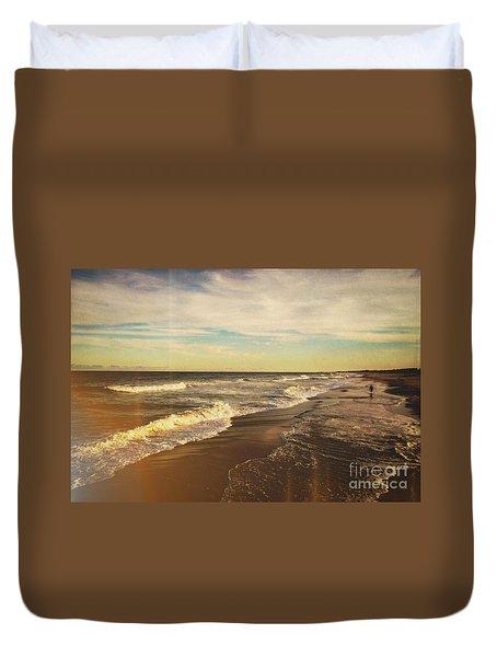 Jersey Shore Duvet Cover