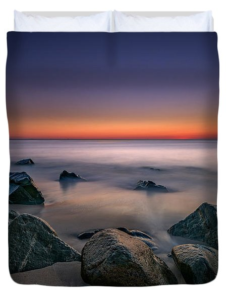 Jersey Shore Tranquility Duvet Cover