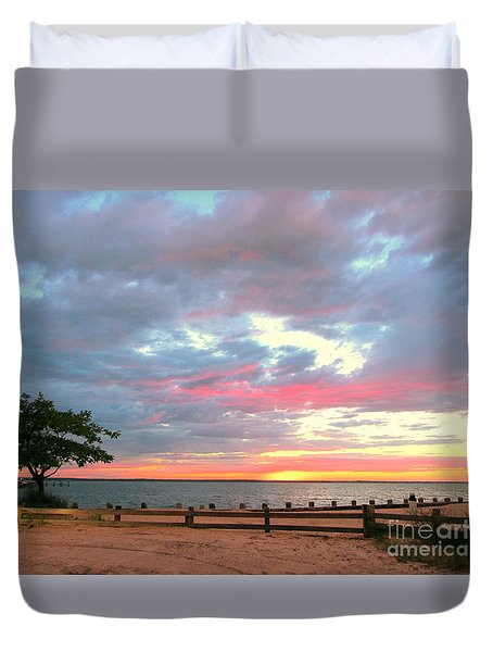 Jersey Summer  Duvet Cover by Susan Carella