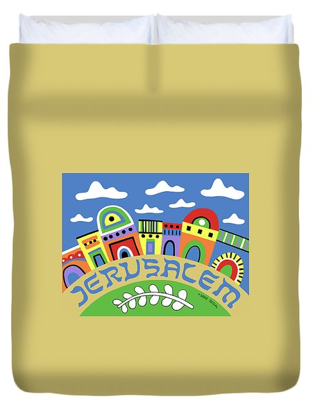 Jerusalem Duvet Cover