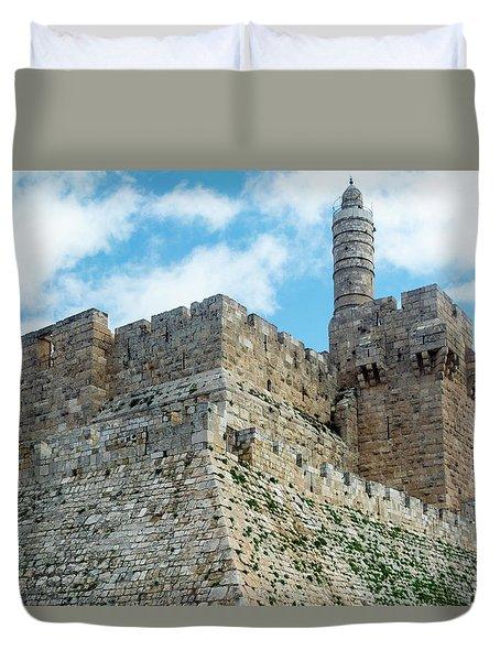 Jerusalem Old City 2 Duvet Cover