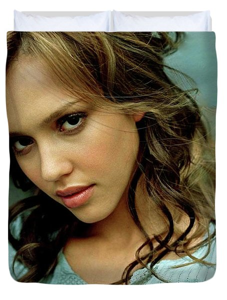 Jessica Alaba Duvet Cover