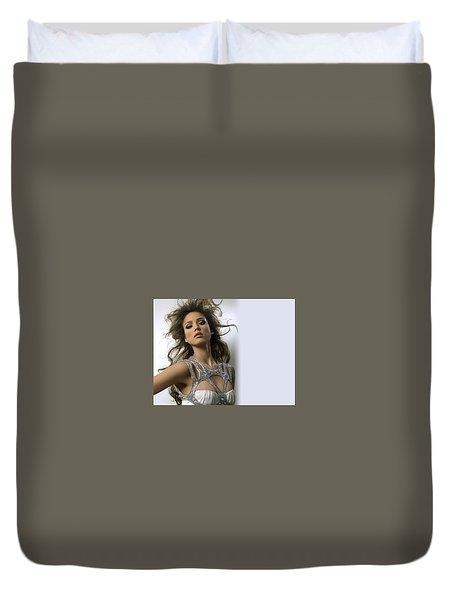 Jessica Alba 47 Duvet Cover