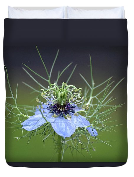 Jester's Hat Flower Duvet Cover
