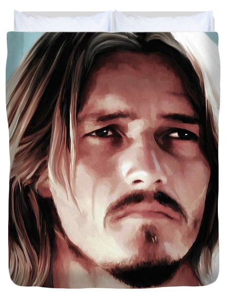 Jesus Christ Superstar Duvet Cover by Gabriel T Toro