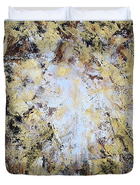 Jesus In Disguise Duvet Cover by Kume Bryant