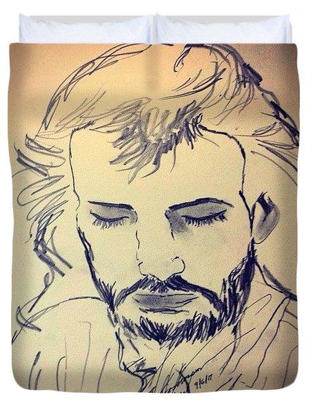 Jesus Life Duvet Cover