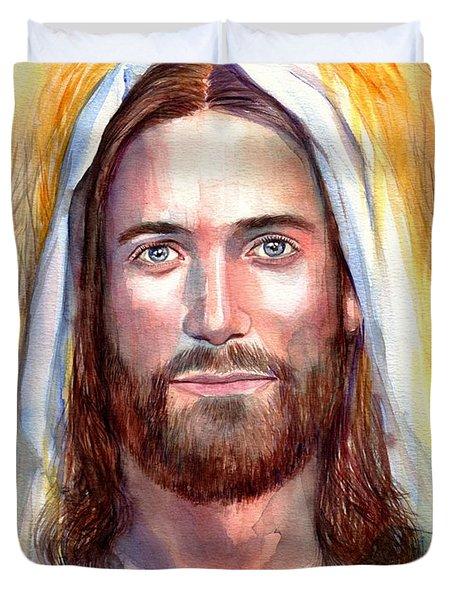 Jesus Of Nazareth Painting Duvet Cover