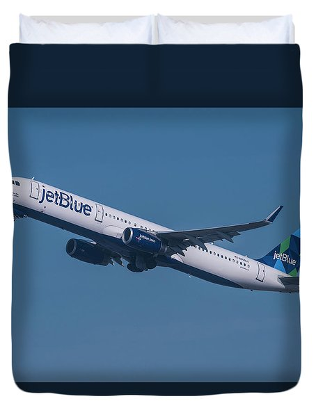 jetBlue Airbus A321 Duvet Cover