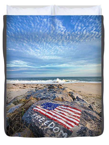 Jetty Four Beach Duvet Cover
