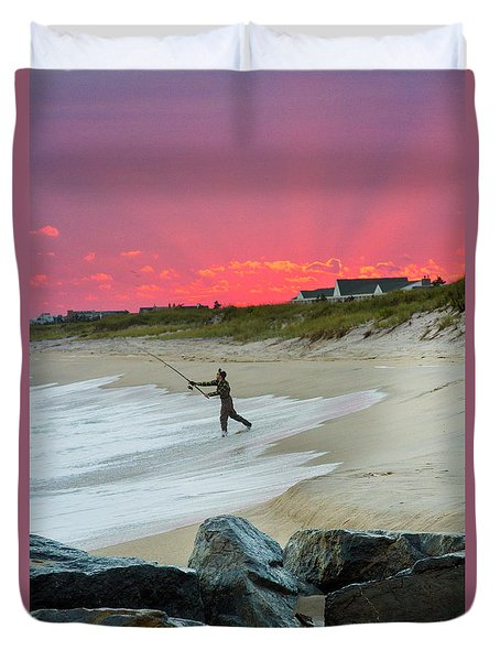 Jetty Four Fisherman Duvet Cover