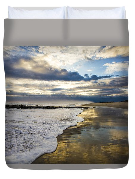 Jetty Four Shorebreak Duvet Cover