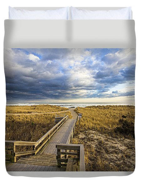 Jetty Four Walkway Duvet Cover
