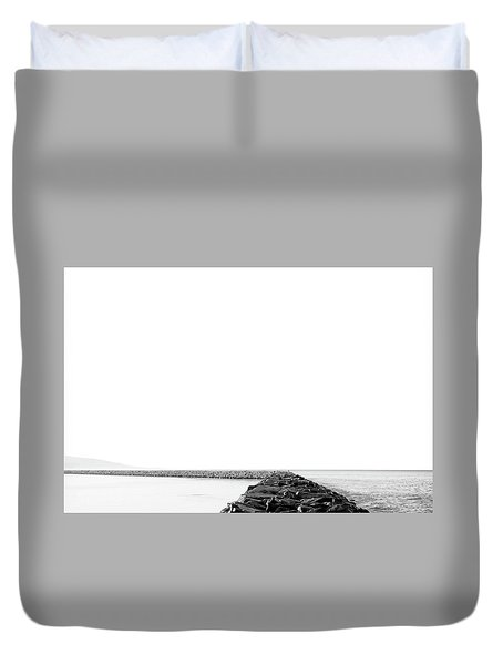 Jetty No. 02 Duvet Cover