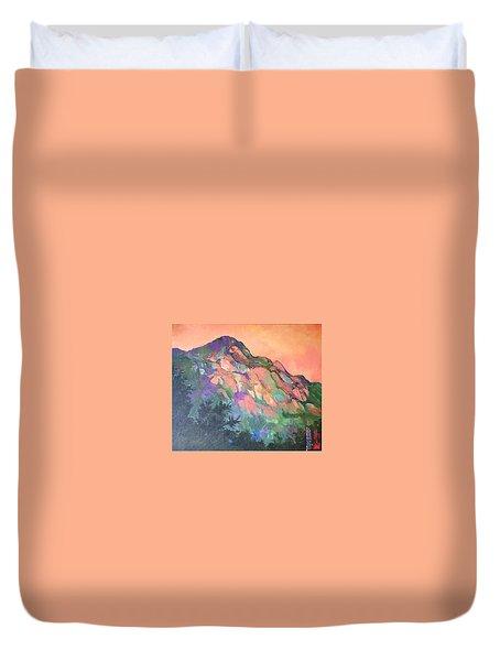 Jewel Mountain 1. Duvet Cover