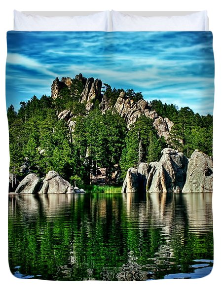 Jewel Of The Black Hills Duvet Cover