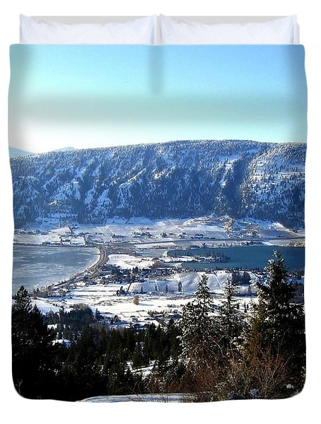 Jewel Of The Okanagan Duvet Cover